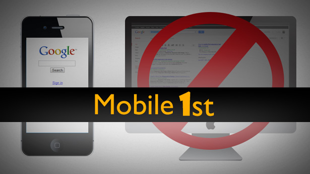 Mobile First is very important for website designs