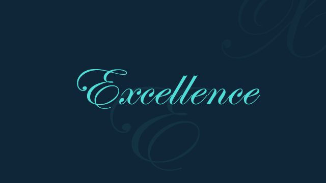 Excellence: How to standout in a world of mediocrity