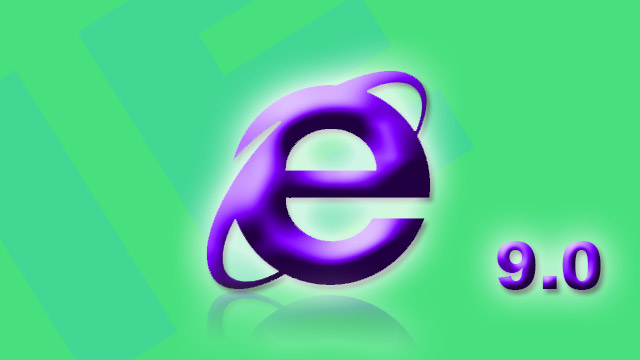 Ugly IE9 Logo